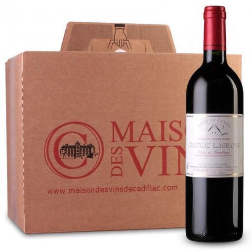 Château Lagrange - Côtes de Bordeaux - Carton de 6 bouteilles