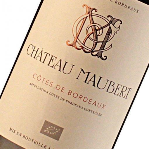 Château Maubert - Etiquette