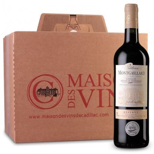 Château Montgaillard - Cadillac Côtes de Bordeaux - Carton de 6 bouteilles