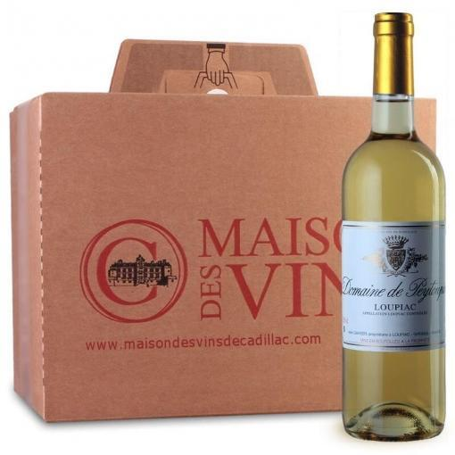 Domaine de Peytoupin - Loupiac - Maison des vins de Cadillac - Carton de 6 bouteilles