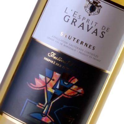 Esprit de Gravas - Sauternes - Maison des vins de Cadillac - Gironde