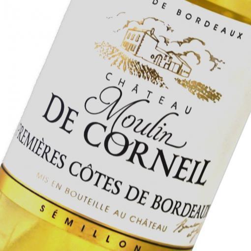Etiquette Moulin De Corneil Premiere Cotes De Bordeaux