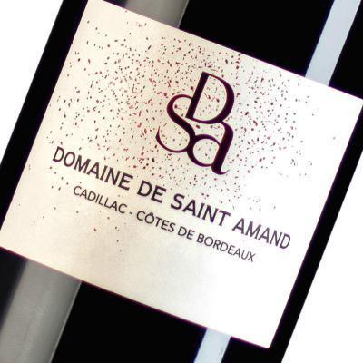 Etiquette Domaine De Saint Amand